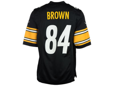 Pittsburgh Steelers Antonio Brown Nike NFL Toddler Game Jersey