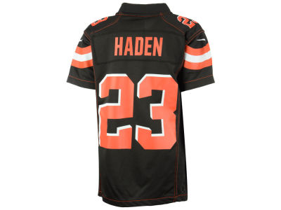 Cleveland Browns Joe Haden Nike NFL Toddler Game Jersey