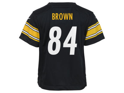 Pittsburgh Steelers Antonio Brown Nike NFL Infant Game Jersey