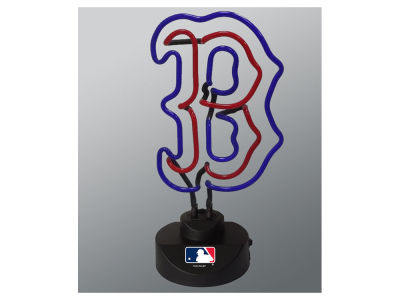 Boston Red Sox Team Logo Neon Light