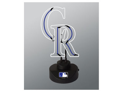 Colorado Rockies Team Logo Neon Light
