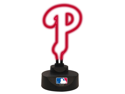 Philadelphia Phillies Team Logo Neon Light