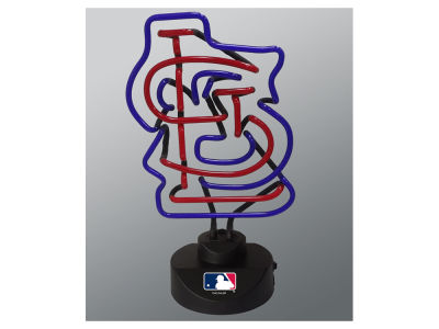 St. Louis Cardinals Team Logo Neon Light