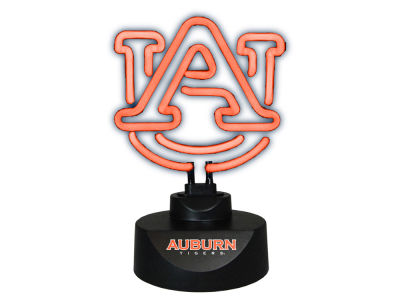 Auburn Tigers Team Logo Neon Light
