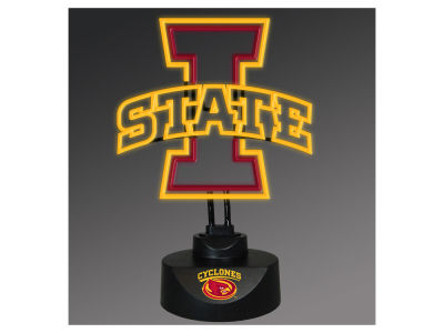 Iowa State Cyclones Team Logo Neon Light