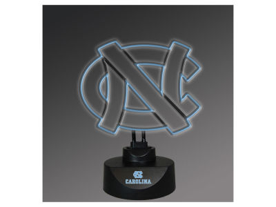 North Carolina Tar Heels Team Logo Neon Light