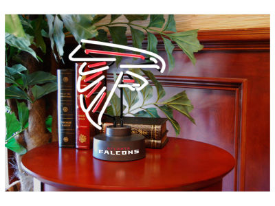 Atlanta Falcons Team Logo Neon Light
