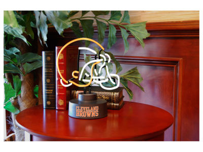 Cleveland Browns Team Logo Neon Light