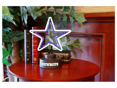 Dallas Cowboys Team Logo Neon Light
