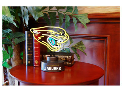 Jacksonville Jaguars Team Logo Neon Light