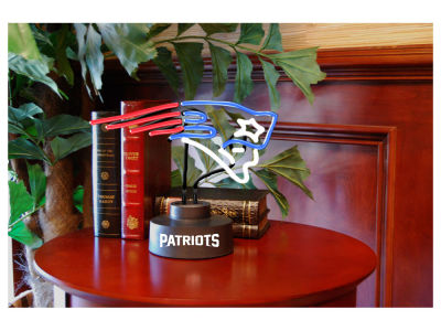 New England Patriots Team Logo Neon Light