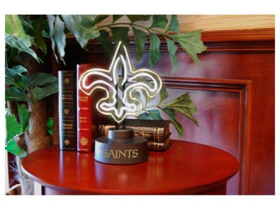New Orleans Saints Team Logo Neon Light