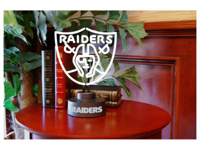 Oakland Raiders Team Logo Neon Light