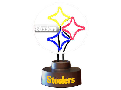 Pittsburgh Steelers Team Logo Neon Light