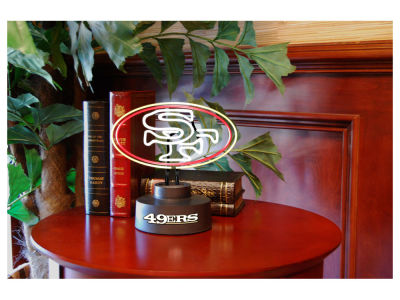 San Francisco 49ers Team Logo Neon Light