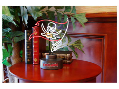Tampa Bay Buccaneers Team Logo Neon Light