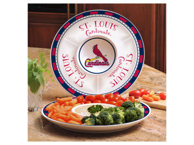 St. Louis Cardinals Ceramic Chip & Dip