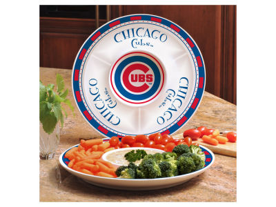 Chicago Cubs Memory Company Ceramic Chip & Dip