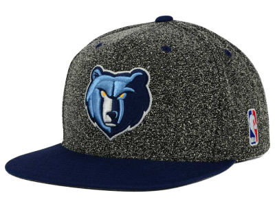 Memphis Grizzlies Mitchell and Ness NBA Static Team Logo Snapback Cap