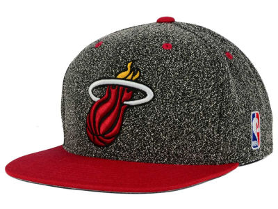 Miami Heat Mitchell and Ness NBA Static Team Logo Snapback Cap