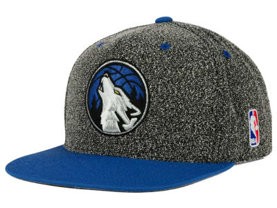 Minnesota Timberwolves Mitchell and Ness NBA Static Team Logo Snapback Cap