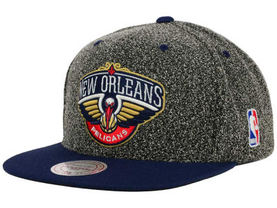 New Orleans Pelicans Mitchell and Ness NBA Static Team Logo Snapback Cap