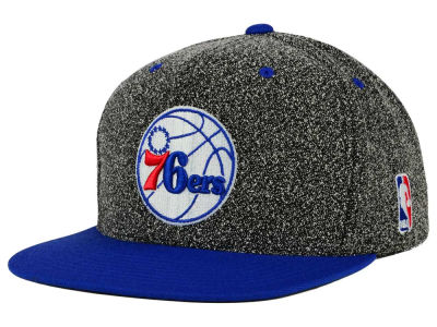 Philadelphia 76ers Mitchell and Ness NBA Static Team Logo Snapback Cap