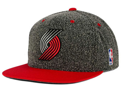 Portland Trail Blazers Mitchell and Ness NBA Static Team Logo Snapback Cap