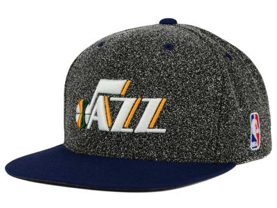 Utah Jazz Mitchell and Ness NBA Static Team Logo Snapback Cap