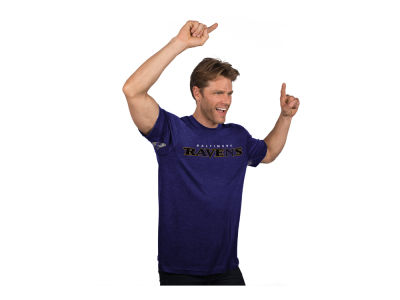 Baltimore Ravens GIII NFL Men's Hands High Blowout Triblend T-Shirt