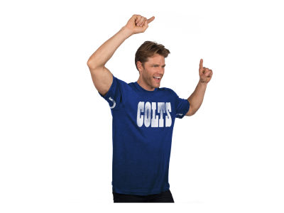 Indianapolis Colts NFL Men's Hands High Blowout Triblend T-Shirt