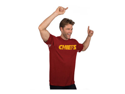 Kansas City Chiefs GIII NFL Men's Hands High Blowout Triblend T-Shirt