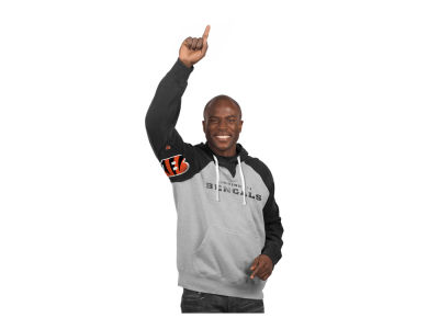 Cincinnati Bengals GIII NFL Men's Hands High Training Camp PO Fleece Hoodie