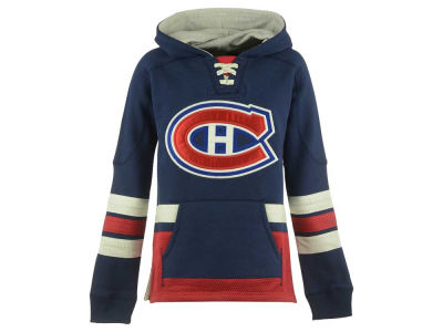 Montreal Canadiens NHL CN Youth Retro Skate Hoodie