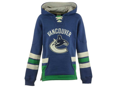 Vancouver Canucks NHL CN Youth Retro Skate Hoodie
