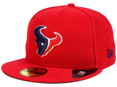 Houston Texans New Era NFL Custom On Field Basic 59FIFTY Cap