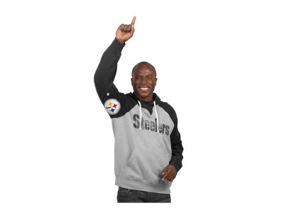 Pittsburgh Steelers GIII NFL Men's Hands High Training Camp PO Fleece Hoodie