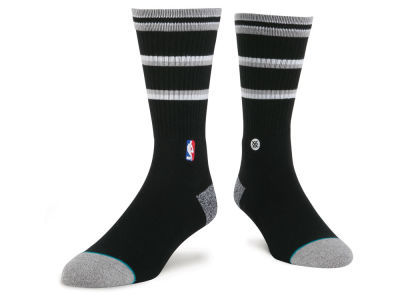 San Antonio Spurs Stance NBA Arena Core Crew Sock