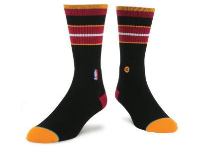 Miami Heat Stance NBA Arena Core Crew Sock