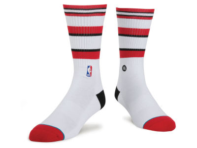 Chicago Bulls Stance NBA Arena Core Crew Sock