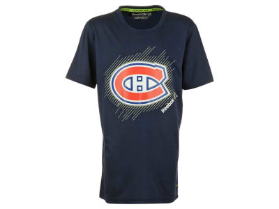 Montreal Canadiens NHL CN Youth TNT Frost Playdry T-Shirt