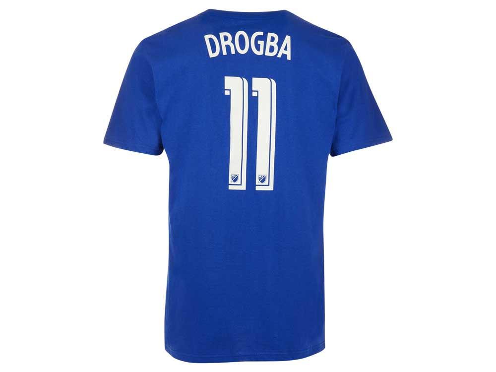 Montreal Impact Didier Drogba Reebok MLS CN Men s Player T-Shirt ... 3ff01b94e