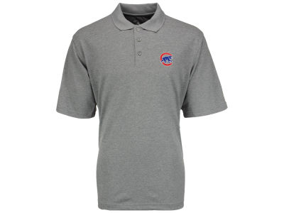 Chicago Cubs MLB Men's Pique Extra Lite Polo Shirt