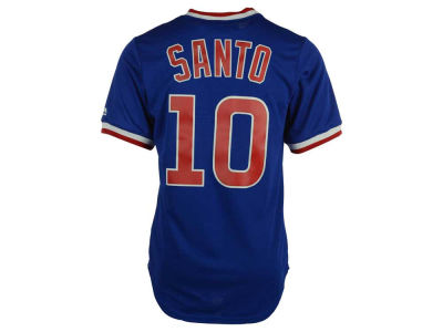 Chicago Cubs Ron Santo Majestic MLB Men's Cooperstown Player Replica CB Jersey