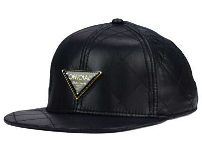 Official All Over Quilted Satin Snapback Hat