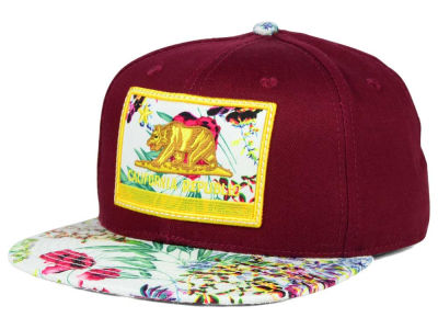 Official Calif Burg Floral Snapback Hat