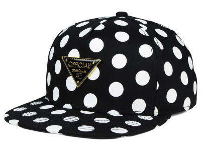 Official Polka Dot Metal Logo Snapback Hat