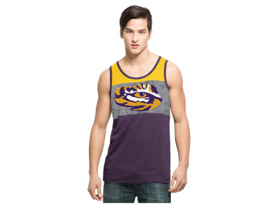LSU Tigers NCAA Men's Split Line Tank