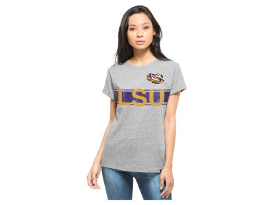 LSU Tigers NCAA Women's Super Hero Tri Blend Scrum T-Shirt