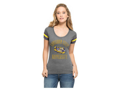 LSU Tigers NCAA Women's Fantasy Campus Scoop T-Shirt